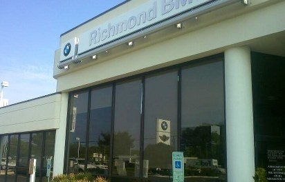 Richmond BMW Roller Shades